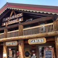 Historic Tamarack Lodge & Cabins in Western Montana.