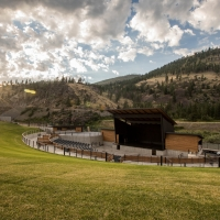 Kettlehouse Amphitheater in Western Montana.