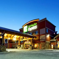 Holiday Inn Express & Suites Kalispell in Western Montana.
