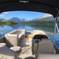 Sun Water Boat Tours in Western Montana.