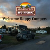 Mountain View RV Park  in Western Montana.