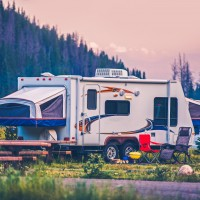 West Glacier RV Park + Cabins in Western Montana.