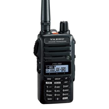 YAESU FTA-250L COM Only Handheld Transceiver