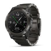 D2 Delta PX Aviator Watch w/ DLC Titanium Band