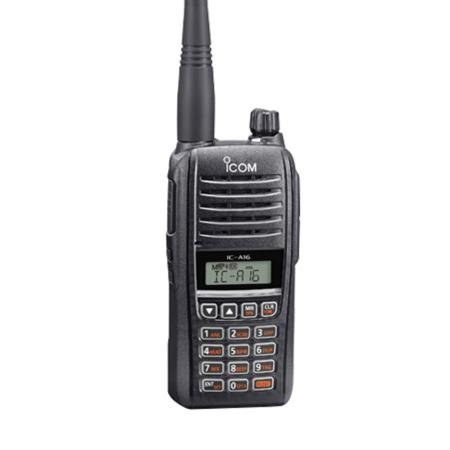Icom IC-A16 Series Com Only Airband Handheld