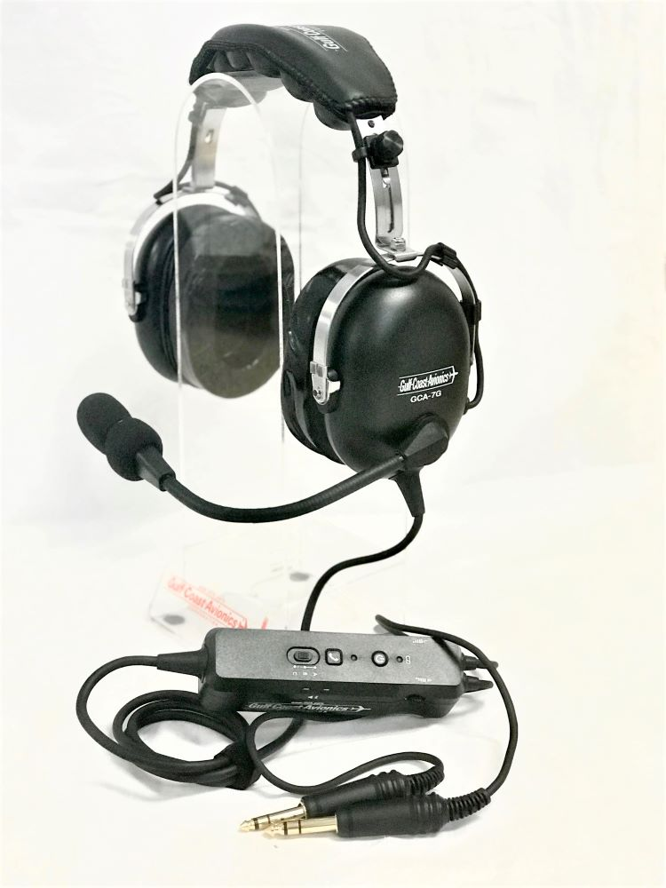 GCA-7G Stereo PNR Headset w/ Bluetooth- Dual Plug