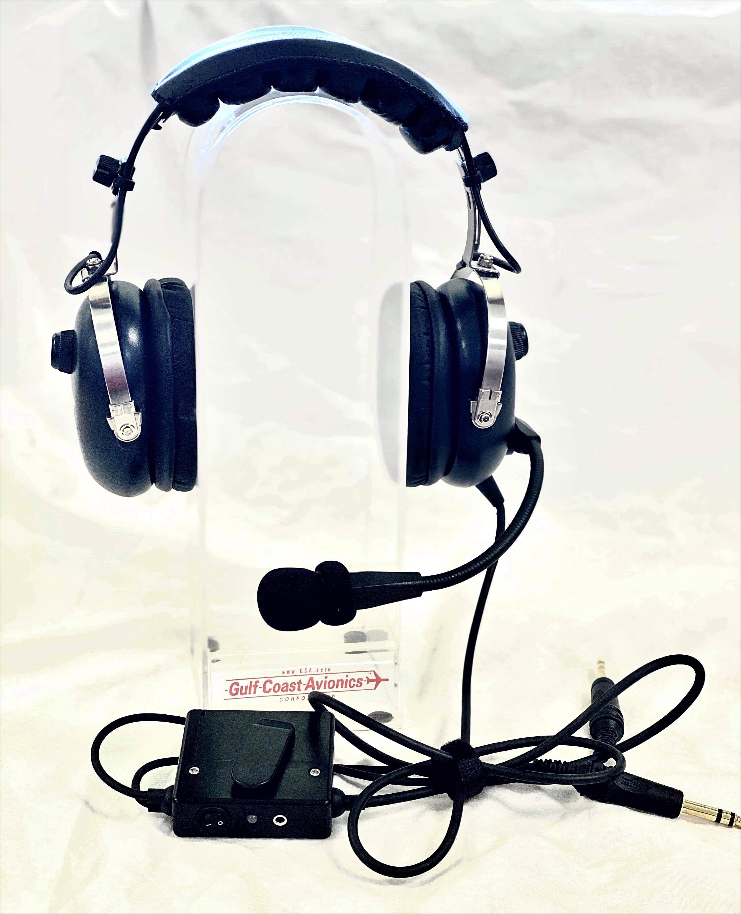 USED GCA Stereo/Mono ANR Headset
