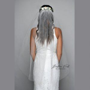 Floral BOHO Wedding Veil