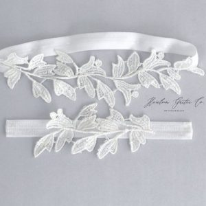 Lace Only Wedding Garters