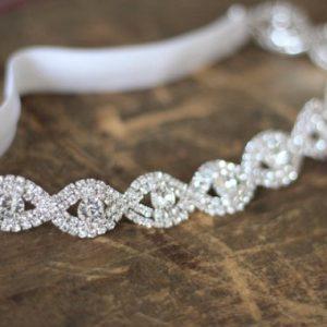 Crystal Wedding Garters