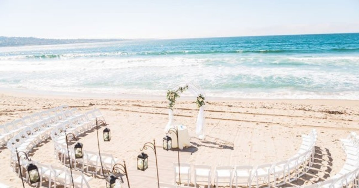 Awesome 12 Beach Wedding Venues In California See Prices Interior Design Ideas Gentotryabchikinfo