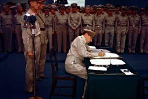 surrender of japan