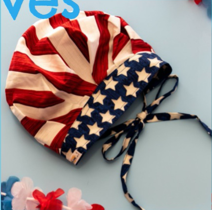 Patriotic Surgical Scrub Hats