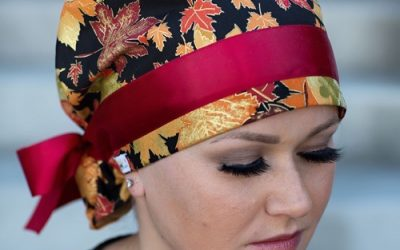 Fall Surgical Scrub Hats by KimKaps