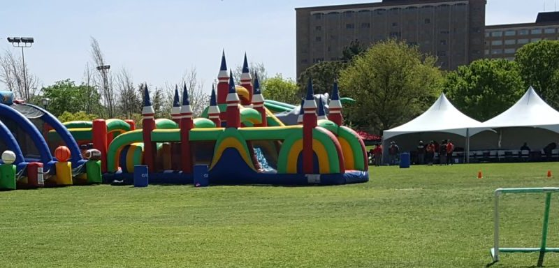Inflatable games, tents, interactive game rentals