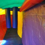 Crazy Maze Inflatable for Parties