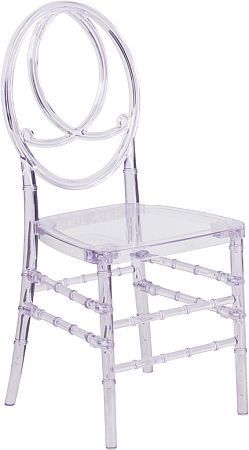 Awe Inspiring Clear Ghost Infinity Chair Modern Style Chiavari Spiritservingveterans Wood Chair Design Ideas Spiritservingveteransorg