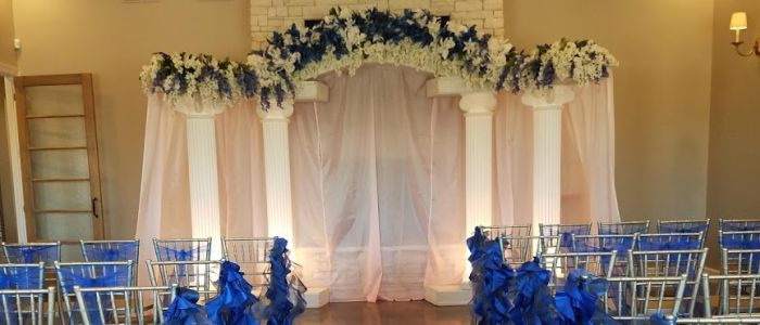 Wedding column rentals
