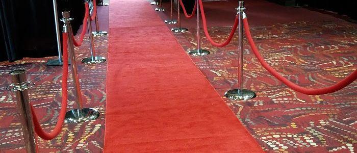 Carpet aisle runner rentals