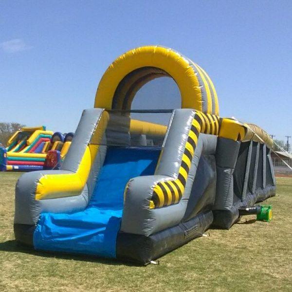 Interactive Warriors Jump Inflatable rental