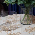 Glassware vases for centerpiece rentals