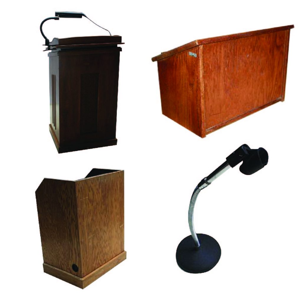Podiums & Seminar Equipment