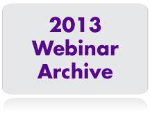 2013-Webinar-Archive
