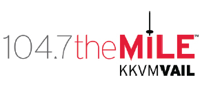 104.7 the mile logo