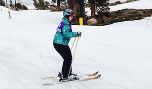 Arwen Skiing