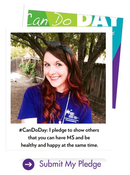 Nikki's Can Do Day Photo Pledge