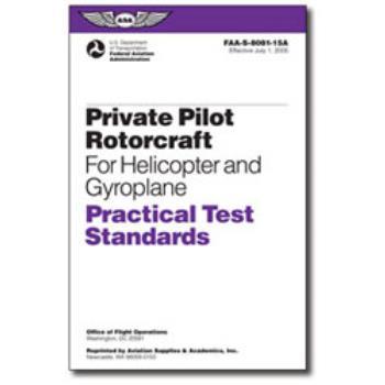 ASA Practical Test Standards | 8081-15A | Pacific Coast Avionics