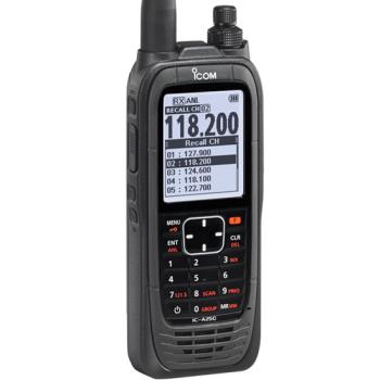 Icom IC-A25C Series Handheld Com Radio