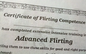 How to flirt with a girl online