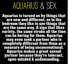 To know woman aquarius things about Secret Signs