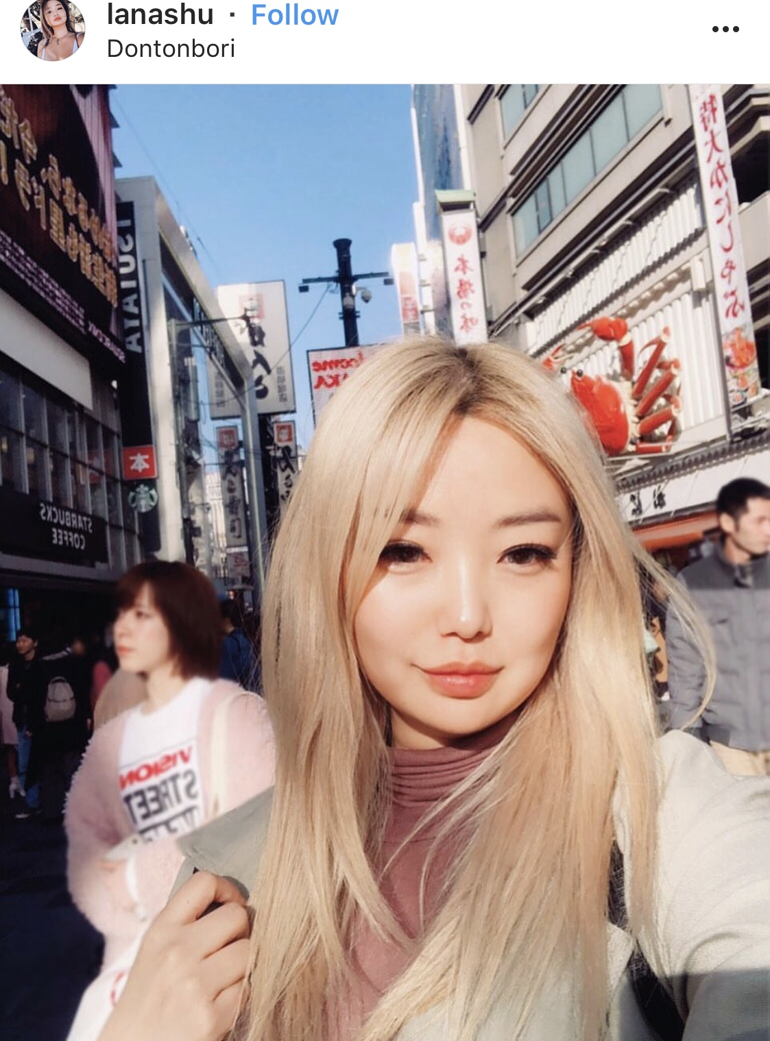 Pictures of blond hair on asians
