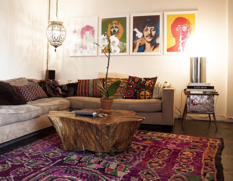25 Bohemian Style Decor Ideas To Design Your Living Room Interior
