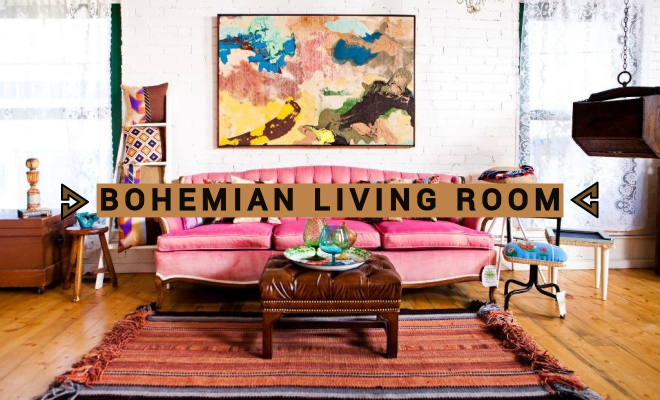 25 Bohemian Style Decor Ideas To Design Your Living Room ...