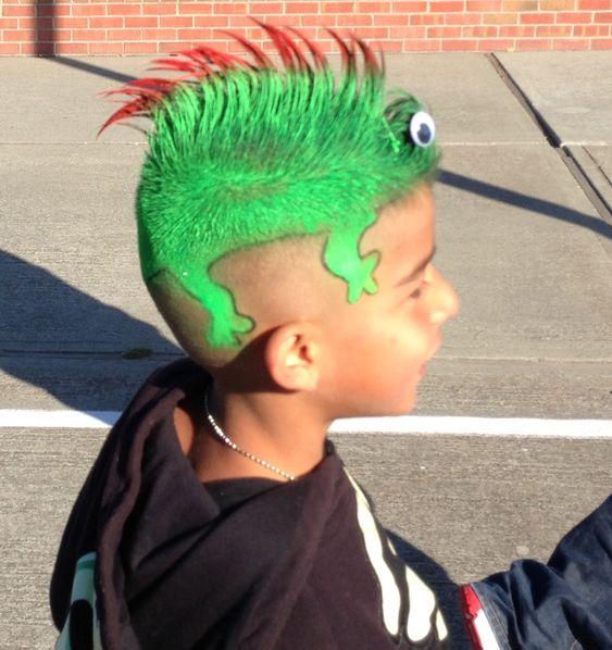 50 Easy Crazy Hair Day Ideas For School Boys With Short Hair