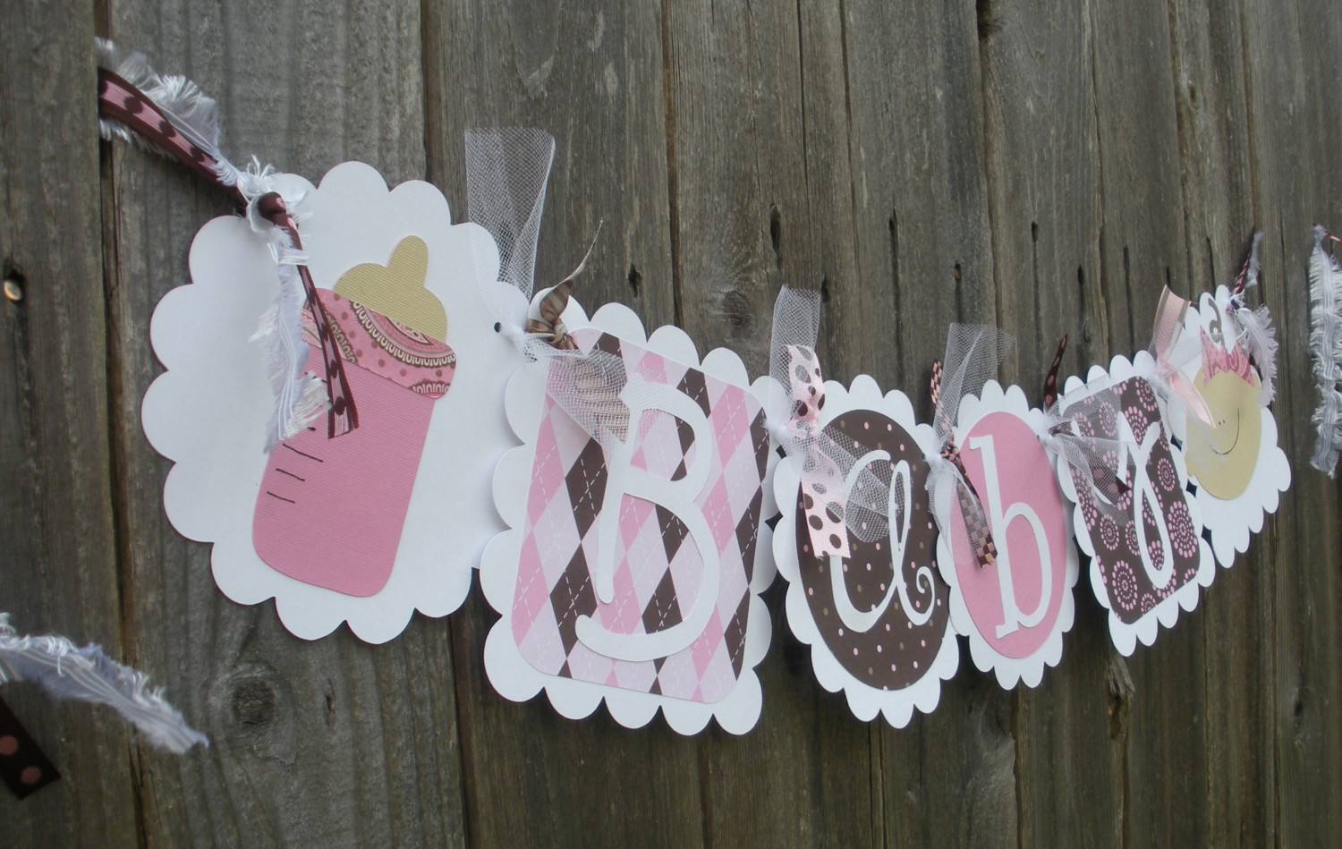 Diy Your Very Own Baby Shower Banner With These Great Ideas