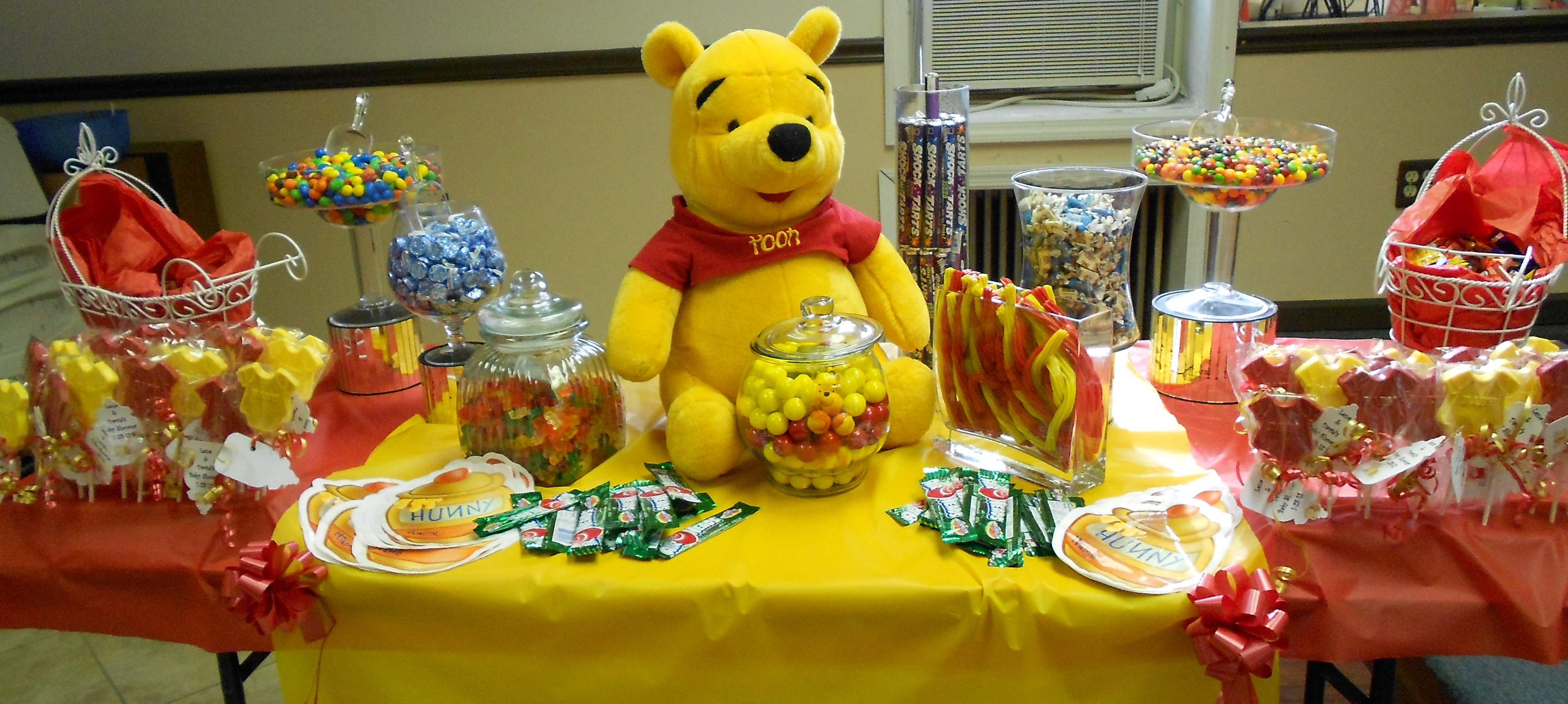 Create Your Own Winnie the Pooh Baby Shower With These Ideas