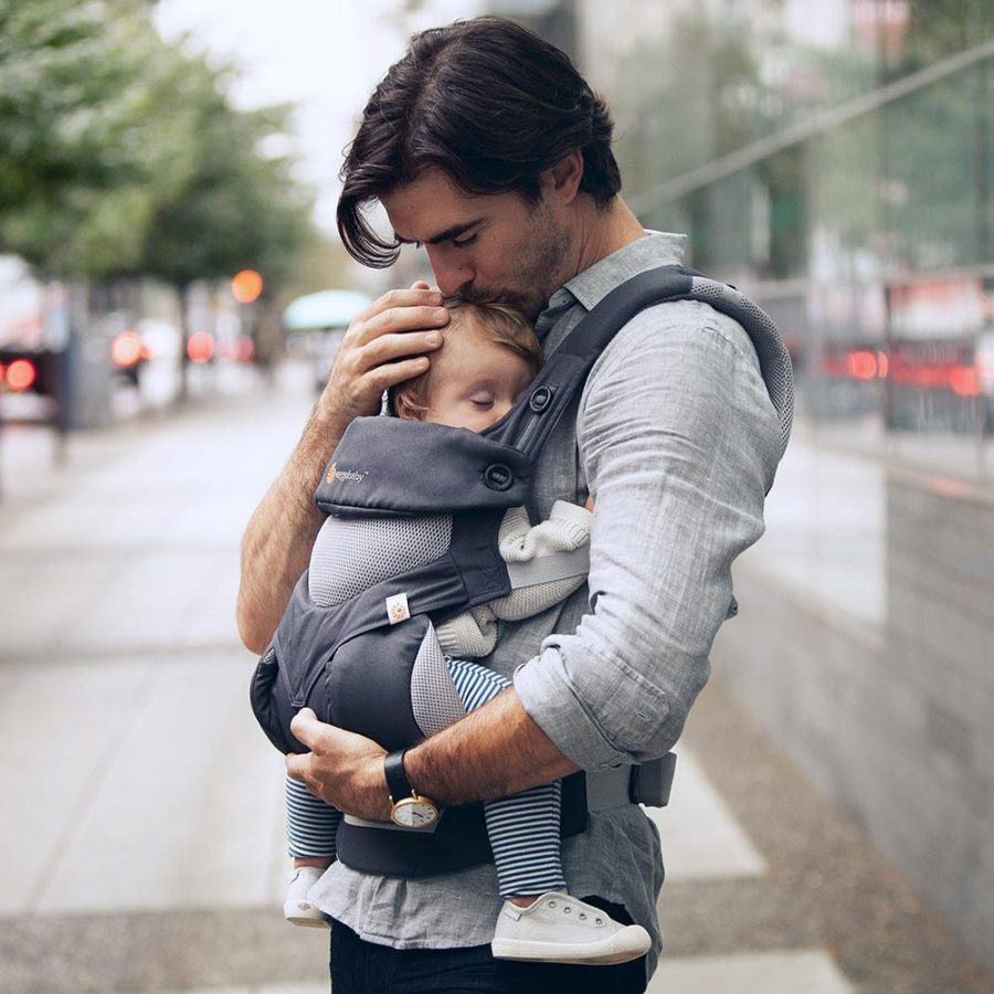 Baby carrier for dads: Stylish and does not break your back