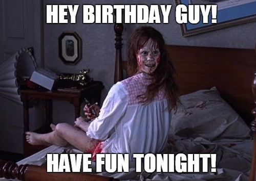 Wish Him A Scary Birthday