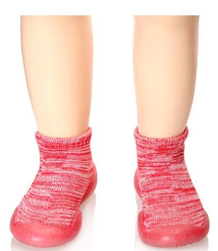 Seeyan Childrens Toddlers Moccasins Anti-Slip Slipper Floor Breathable Cotton Ki