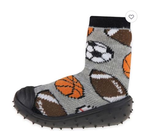 Toddler slipper socks that look