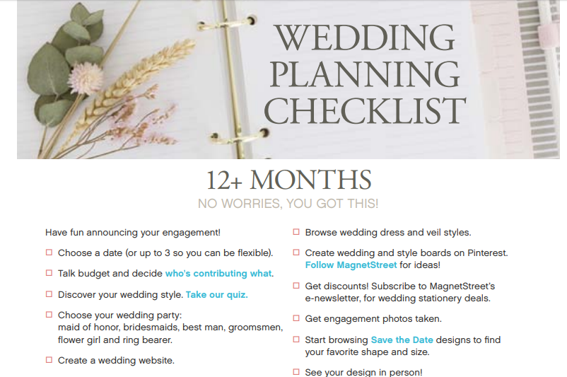 Wedding List: The 101 checklist you should have for weddings