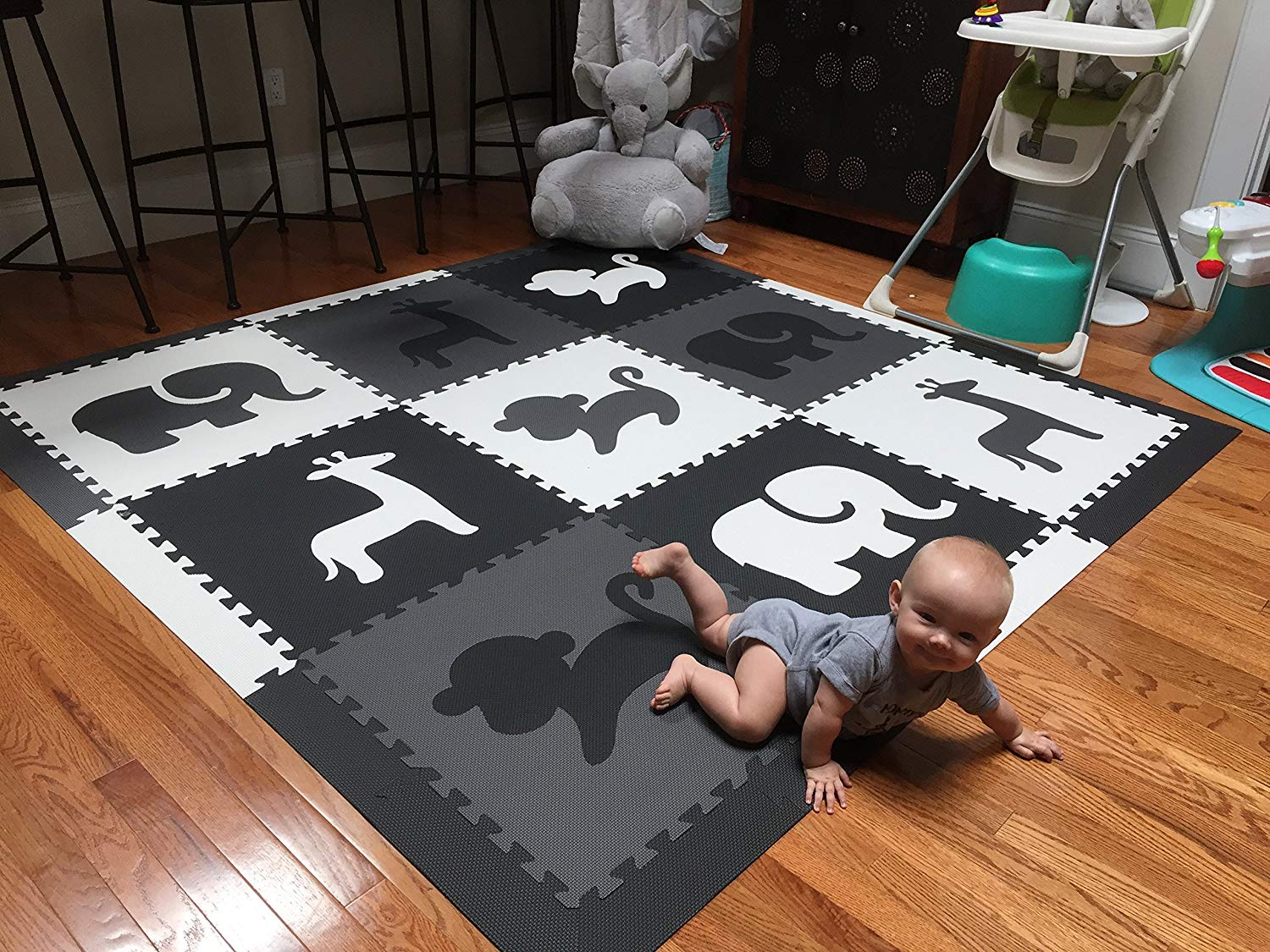 10 Non Toxic Baby Crawling Mats For Infant To Play On