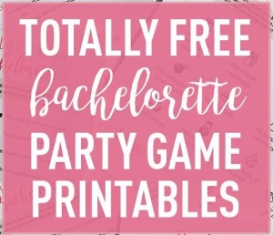 picture regarding Free Printable Bachelorette Party Games known as 18 Entertaining Bachelorette Get together Game titles In direction of Participate in During The Night time