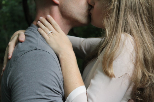 Where to kiss a man to arouse him