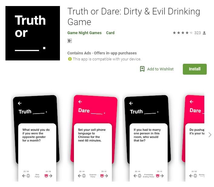 Truth Or Dare App Spices Up Your Sex Life
