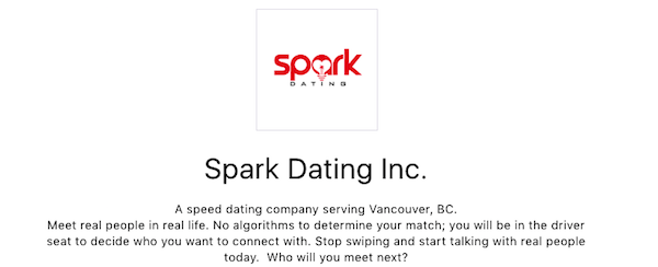 Speed Dating à Vancouver BC